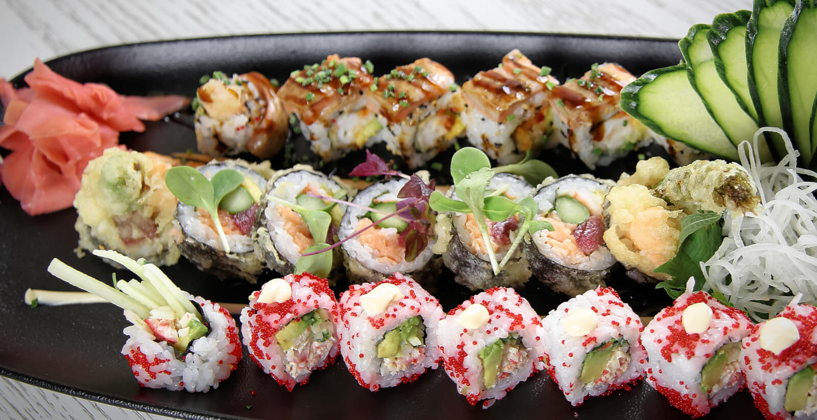 Lucy Wang • Japanese Newstyle & French Brasserie • Top Sushi Restaurant • Puerto Portals • Mallorca